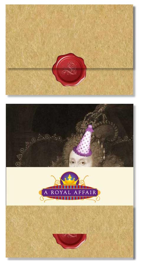 Royal Affair Invite