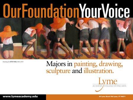 Lyme Academy Recruitment Poster