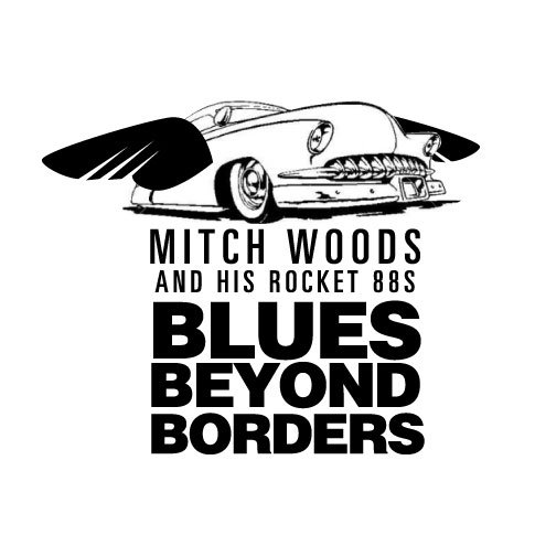 Blues Beyond Borders package branding | putting the car in flight