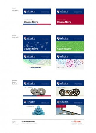 Coursera Design samples